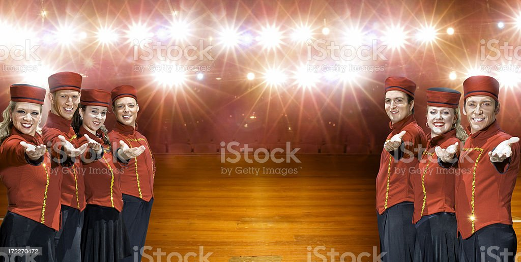 Your Stage royalty-free stock photo