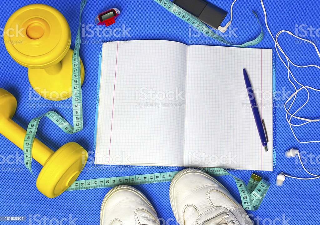 Your Training Plan royalty-free stock photo