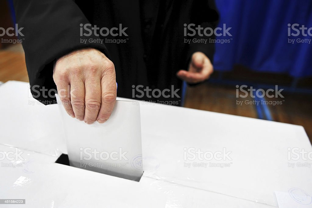 Your Vote Counts royalty-free stock photo