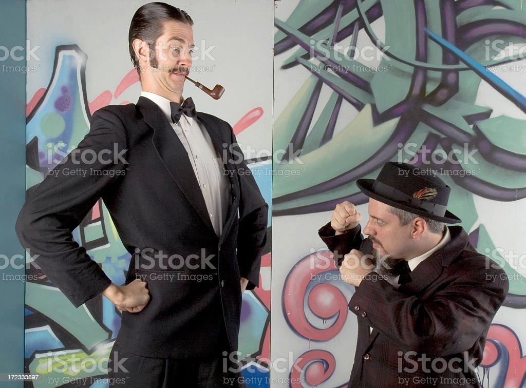You're askin' for a Knuckle Sandwich! royalty-free stock photo
