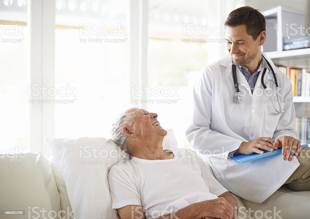 You're doing great! stock photo