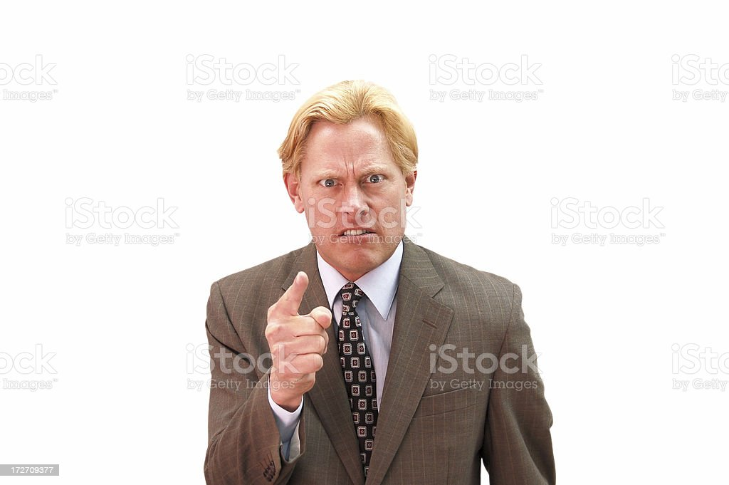 You're Fired royalty-free stock photo