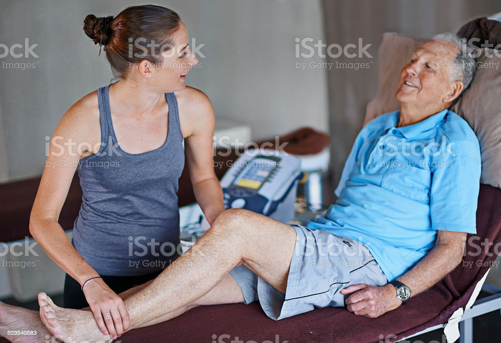 You're getting better by the day stock photo