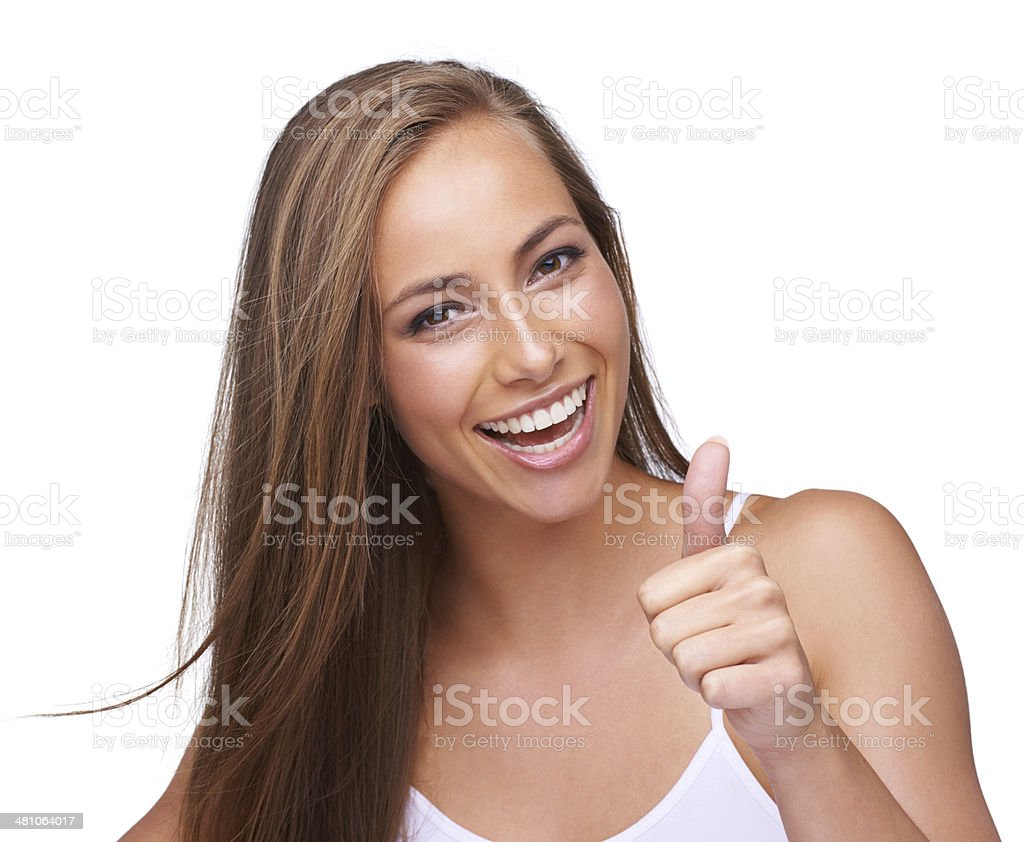 You're golden! royalty-free stock photo