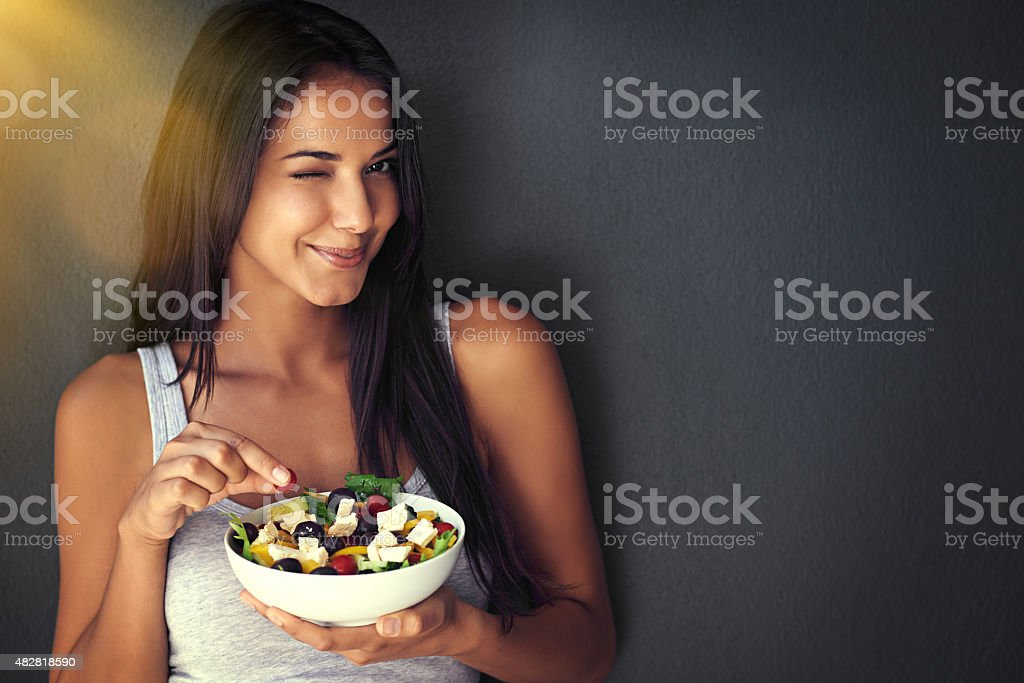 You're gonna love this! stock photo