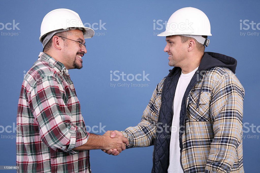 You're Hired stock photo