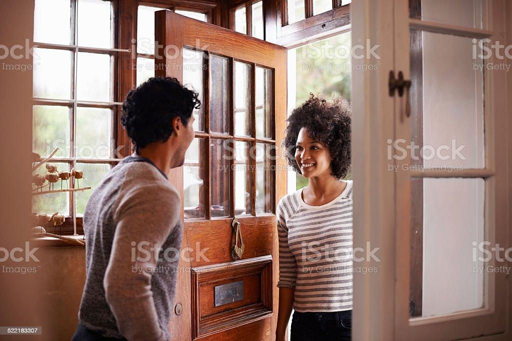 You're home! stock photo