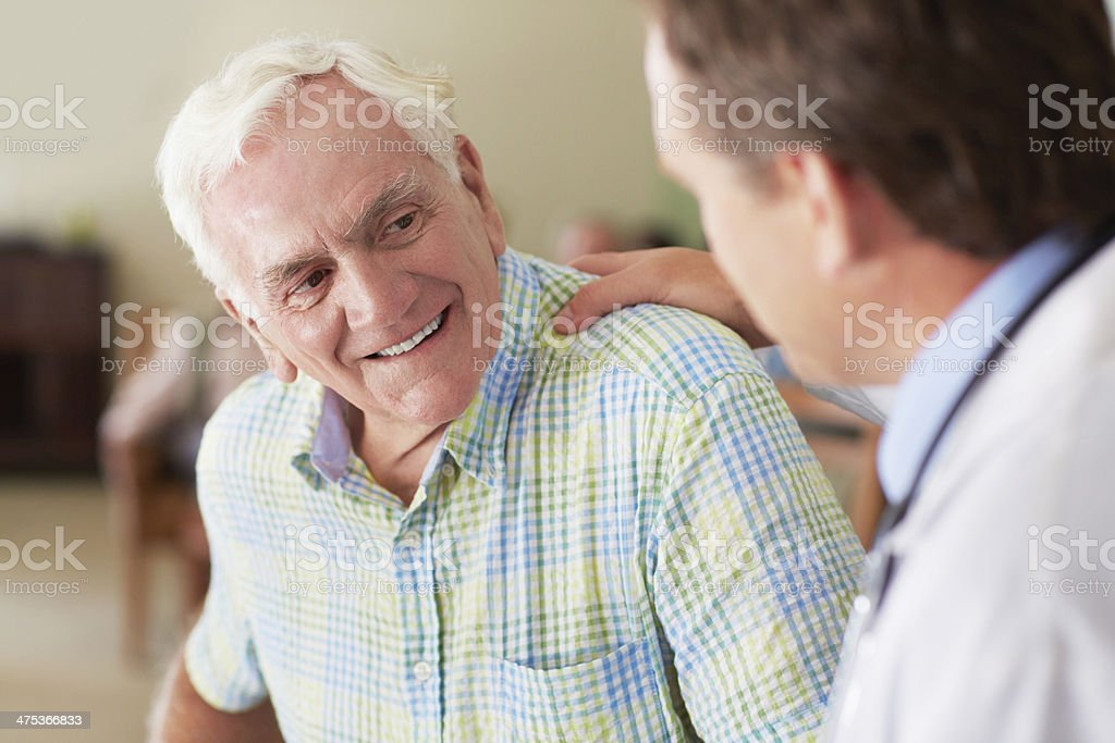 You're in excellent shape! stock photo