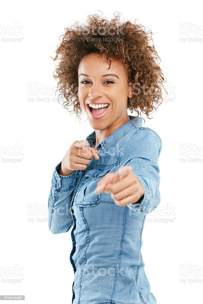 You're just what I've been waiting for stock photo