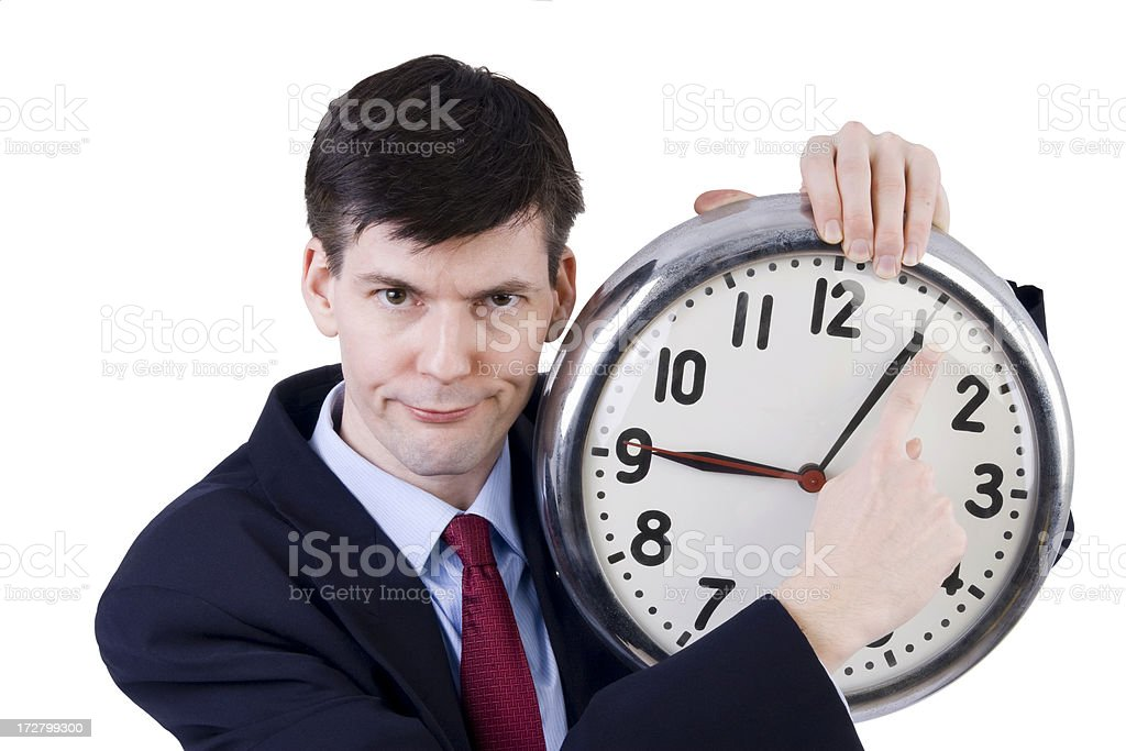 You're Late Again! royalty-free stock photo