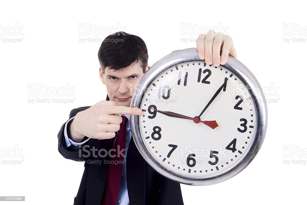 You're Late! royalty-free stock photo