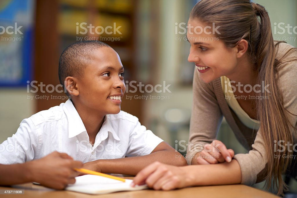 You're my favorite teacher stock photo
