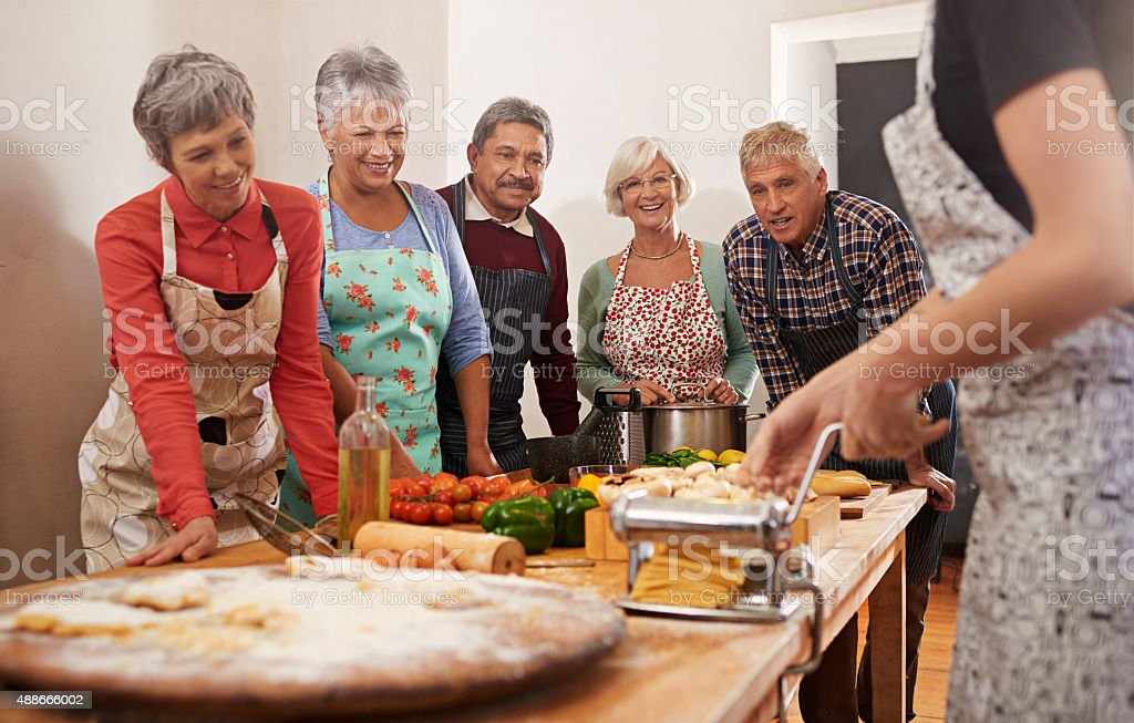 You're never too old to learn stock photo