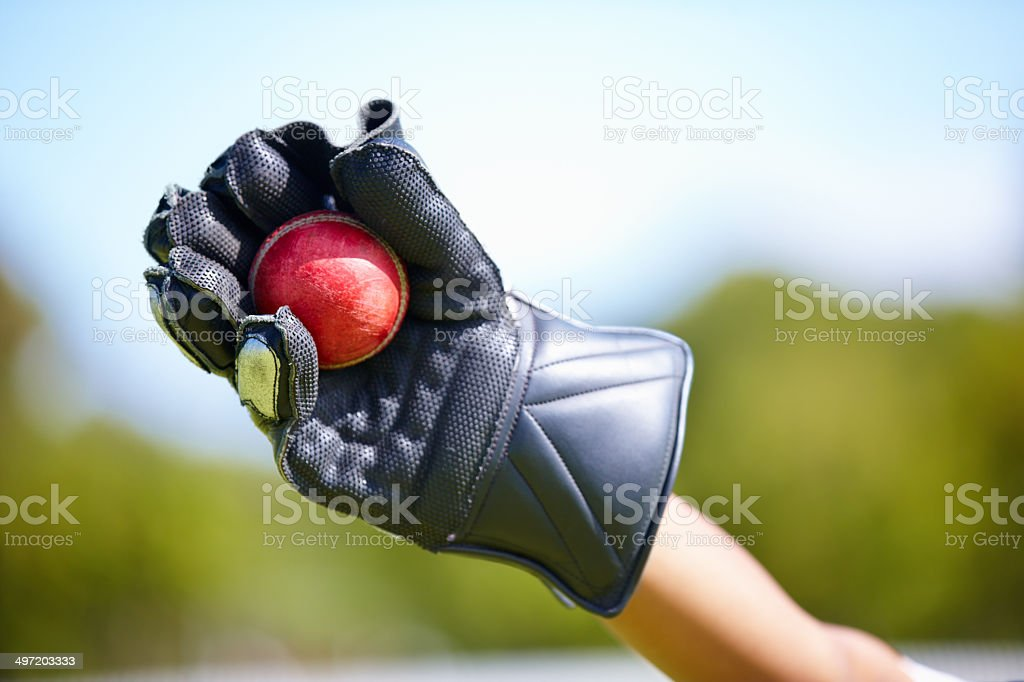 You're out!! stock photo