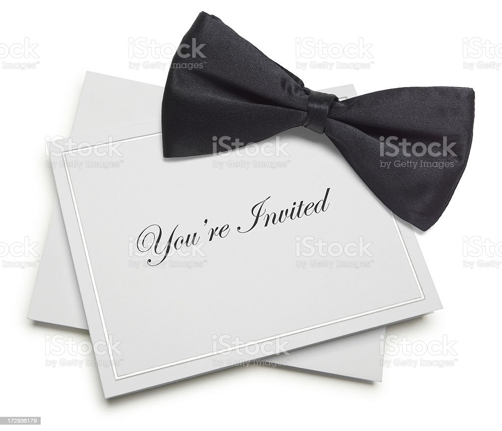 Your're Invited royalty-free stock photo