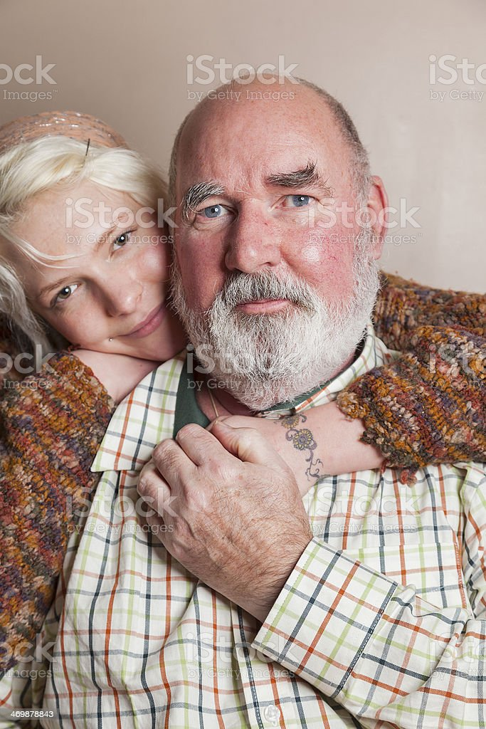 Youth And Age royalty-free stock photo