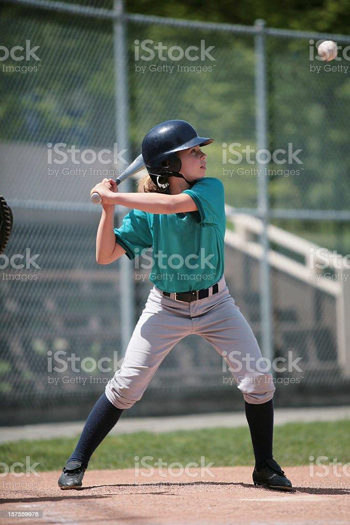 Youth League Slugger royalty-free stock photo