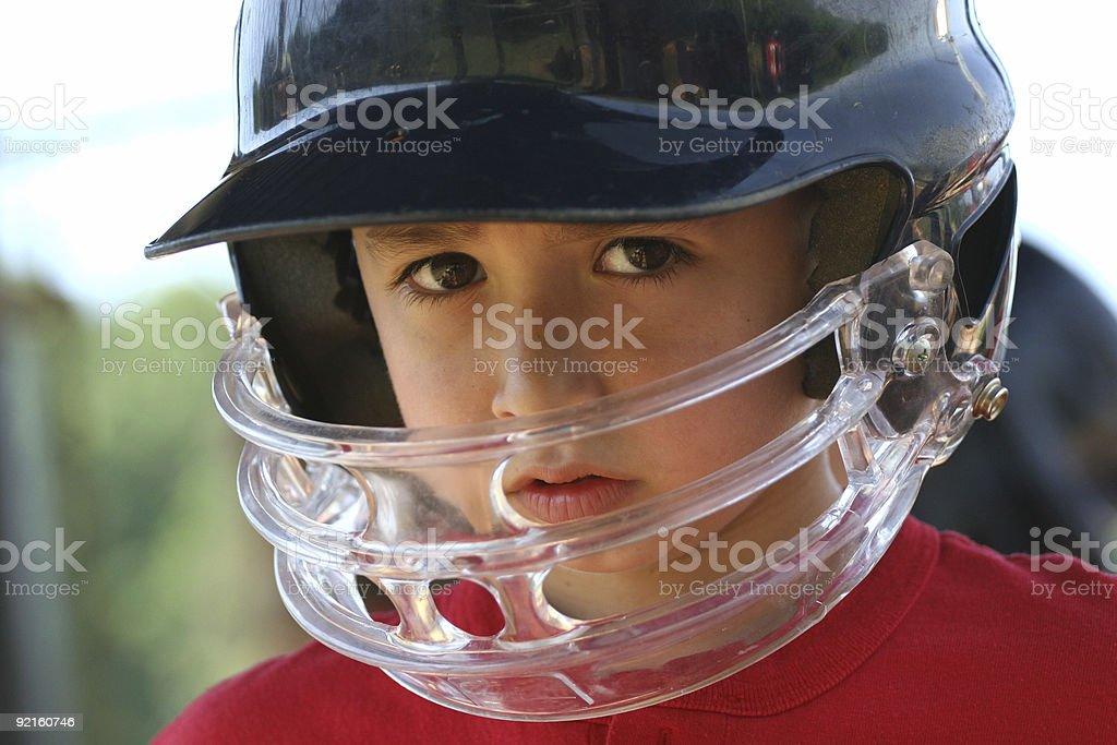 Youth Leaguer royalty-free stock photo