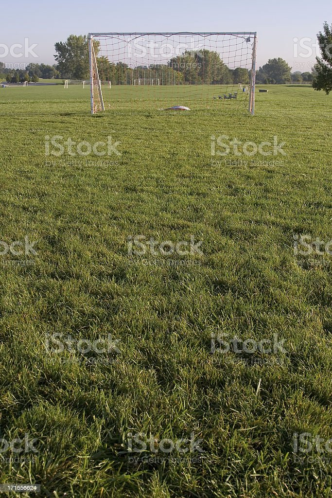 youth soccer field royalty-free stock photo