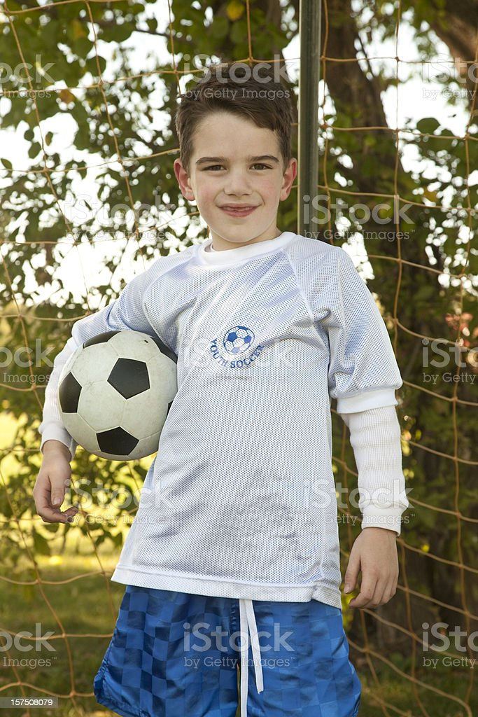 Youth Soccer royalty-free stock photo
