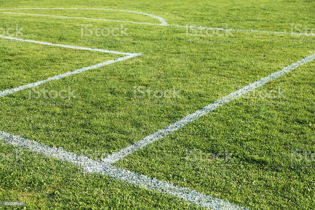 Youth Soccer Pitch stock photo