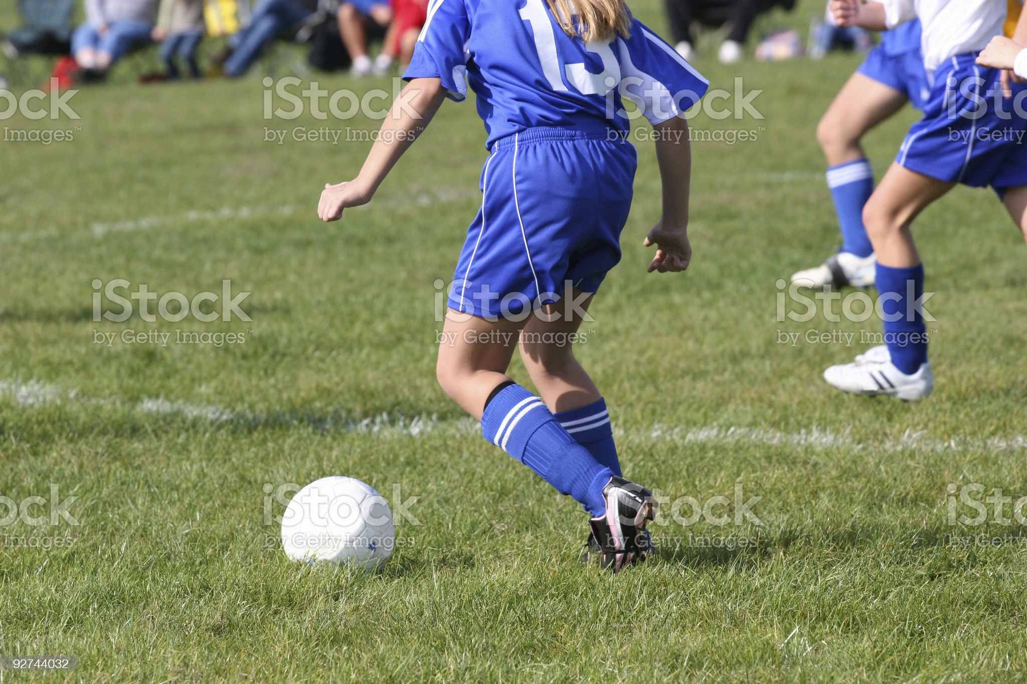 Youth Teen Soccer Play royalty-free stock photo