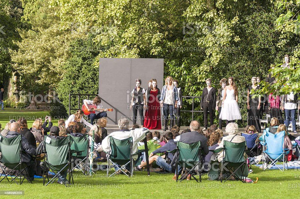 Youth Theatre stock photo