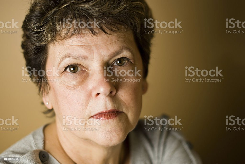Youthful grandmother royalty-free stock photo