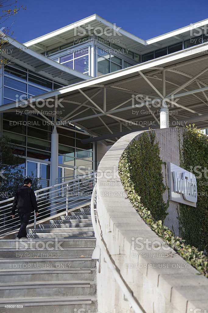 YouTube Headquarters royalty-free stock photo