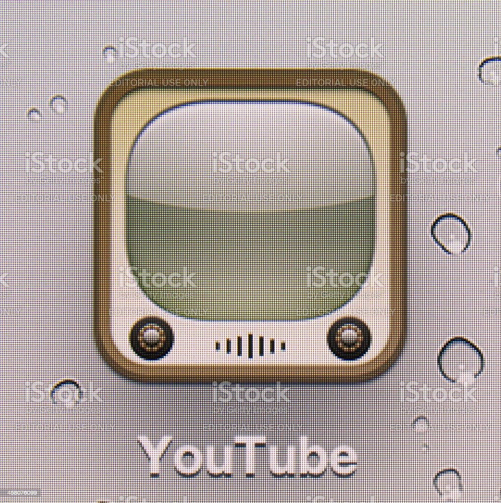 YouTube. royalty-free stock photo