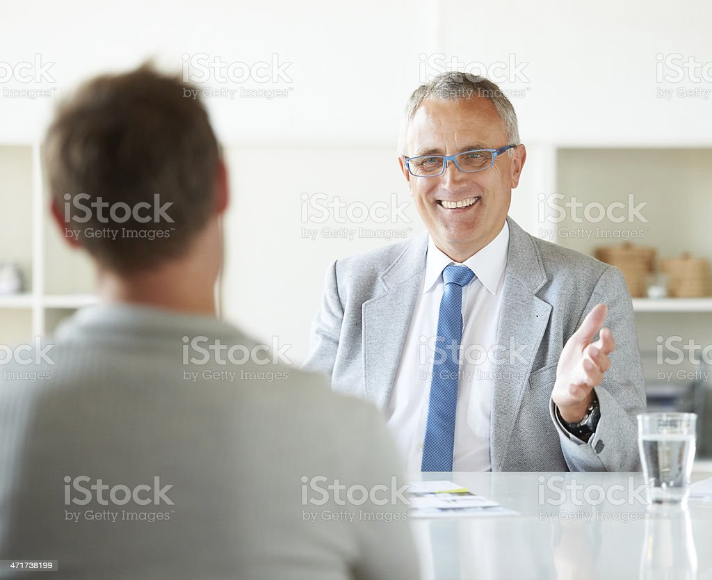 You've been doing a great job! stock photo