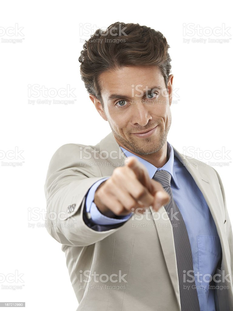 You've been head-hunted! stock photo
