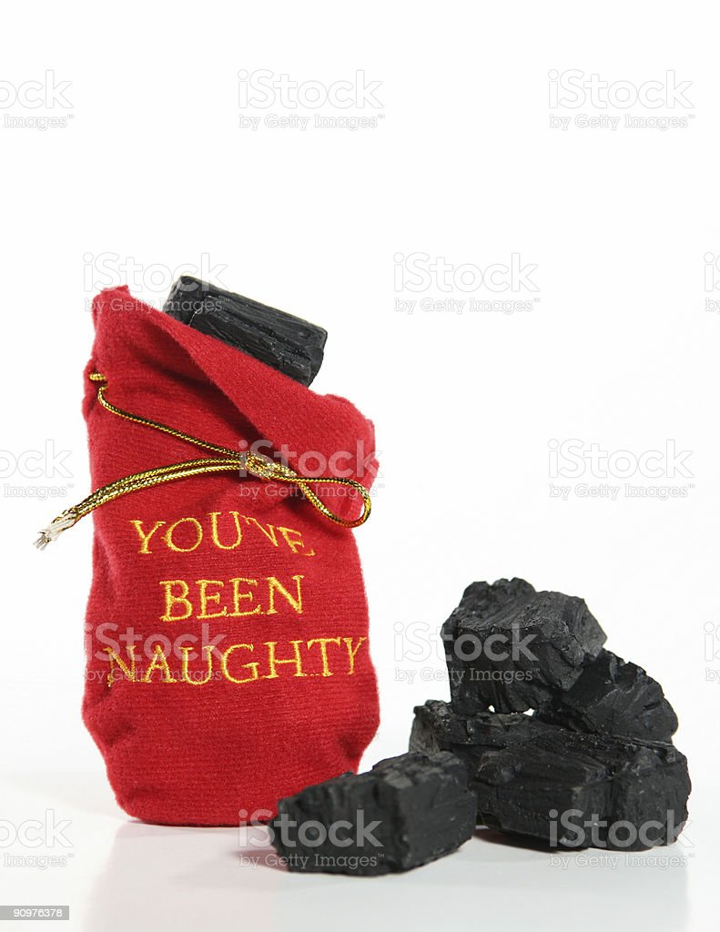 You've Been Naughty stock photo