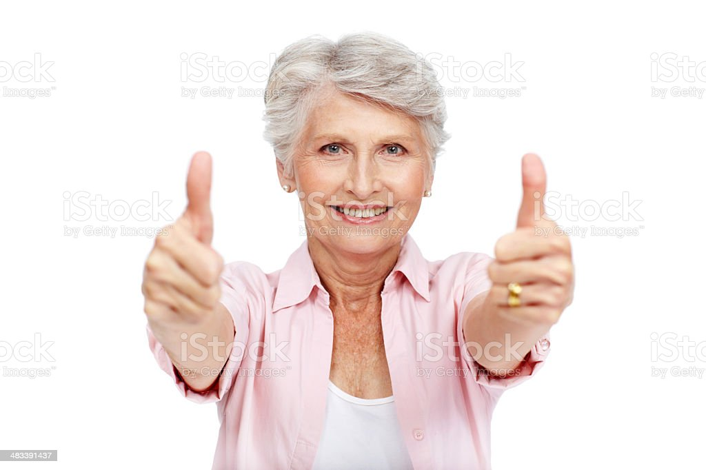 You've done an excellent job! royalty-free stock photo