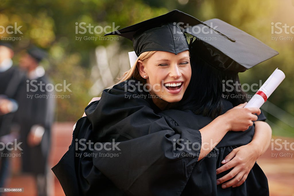 You've earned it, now own it stock photo