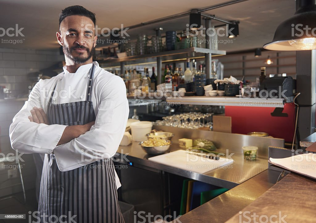 You've found the best restaurant in town! stock photo