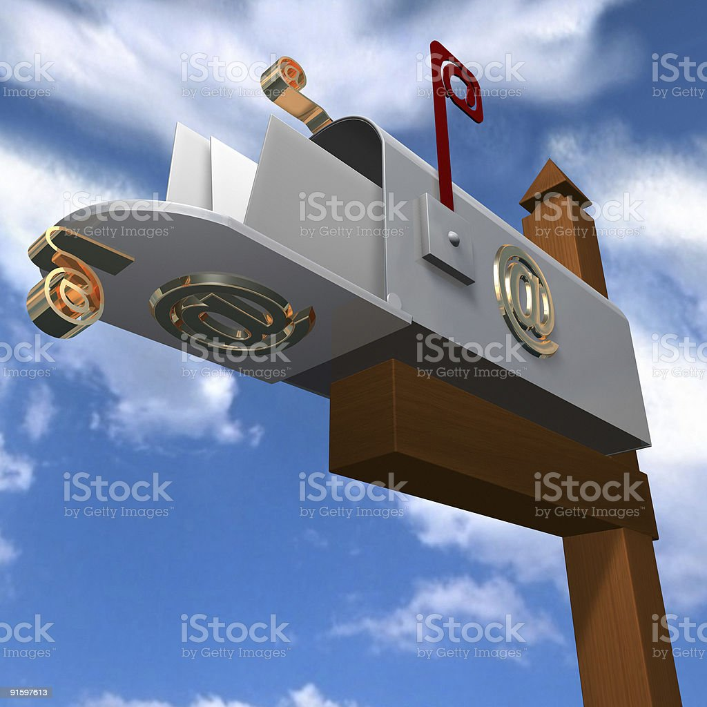 You've got Mail 2 stock photo