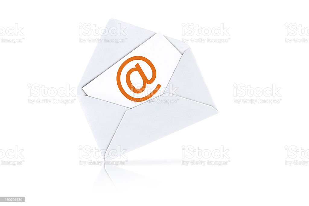you've got mail royalty-free stock photo