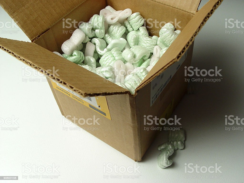 You've got mail (in a box)! royalty-free stock photo