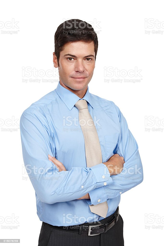 You've got to act the part stock photo