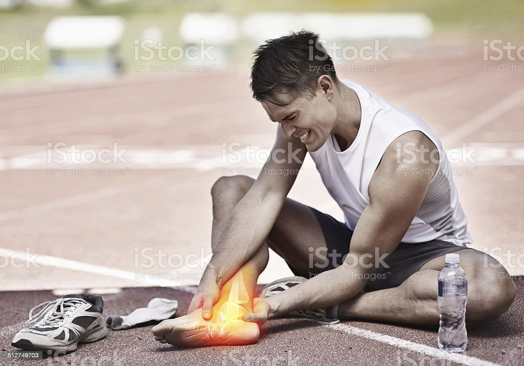 You've got to break down before you can build up stock photo