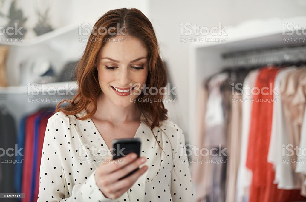 You've got to meet me at the sale! stock photo