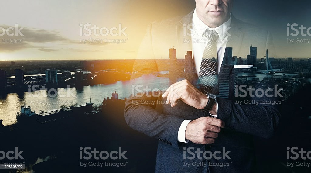 You've gotta look the part stock photo