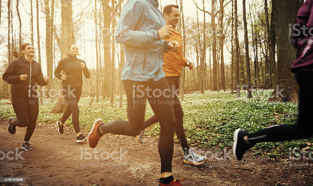 You've gotta put in the hard yards stock photo