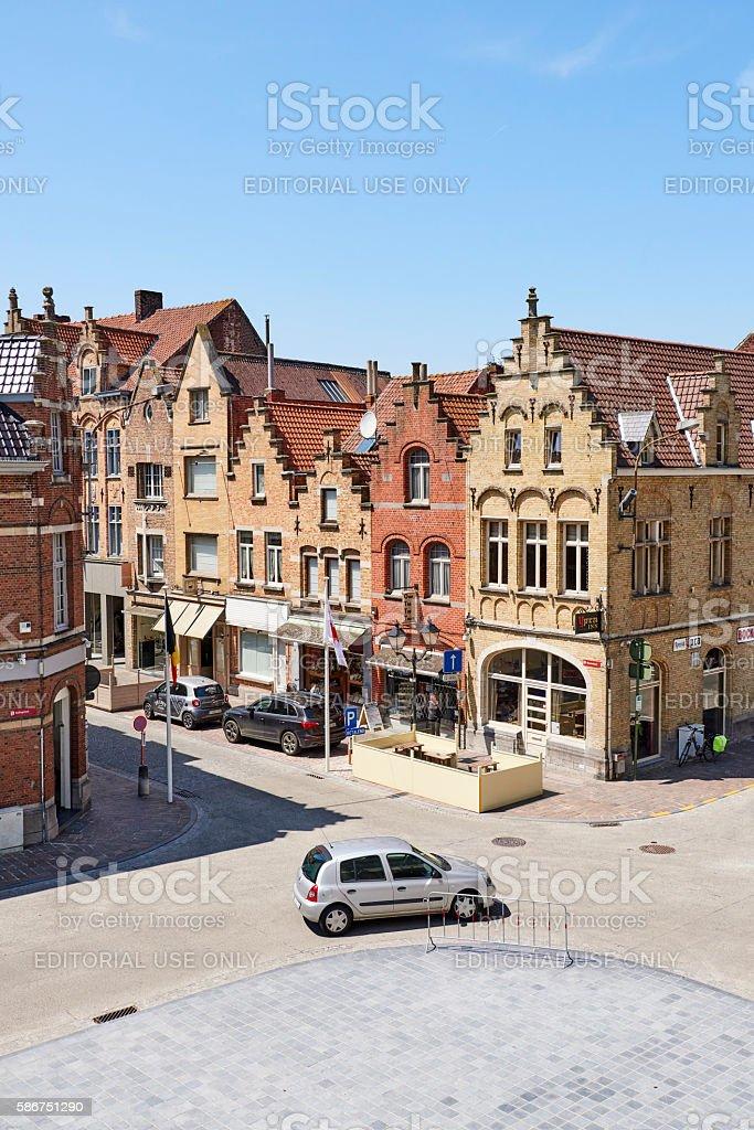 Ypres Town stock photo