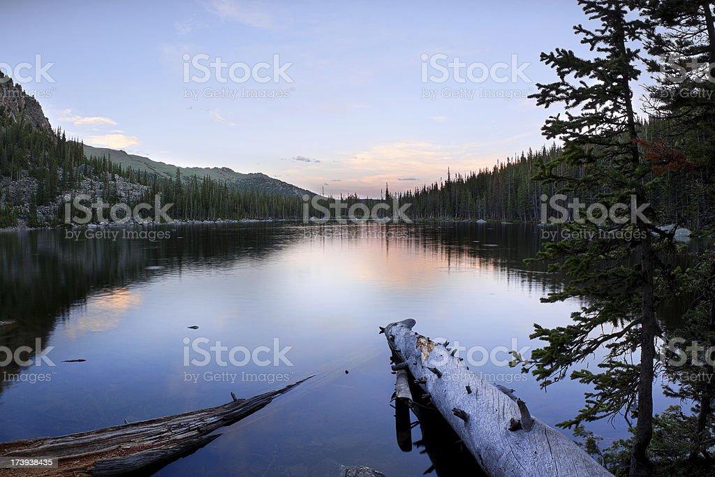 Ypsilon Lake royalty-free stock photo