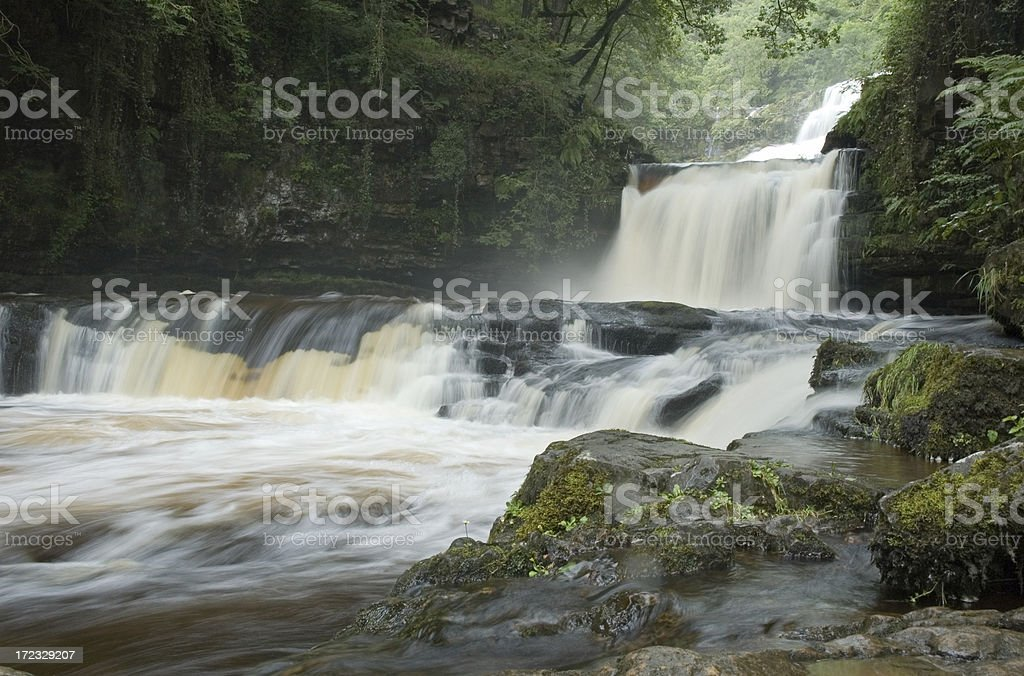 Ystradfellte Waterfalls stock photo