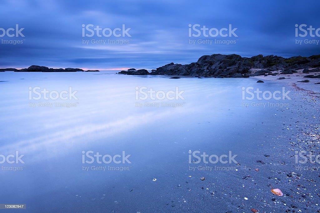 Yttervik Beach royalty-free stock photo