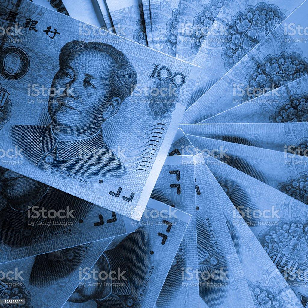 RMB 100 yuan royalty-free stock photo