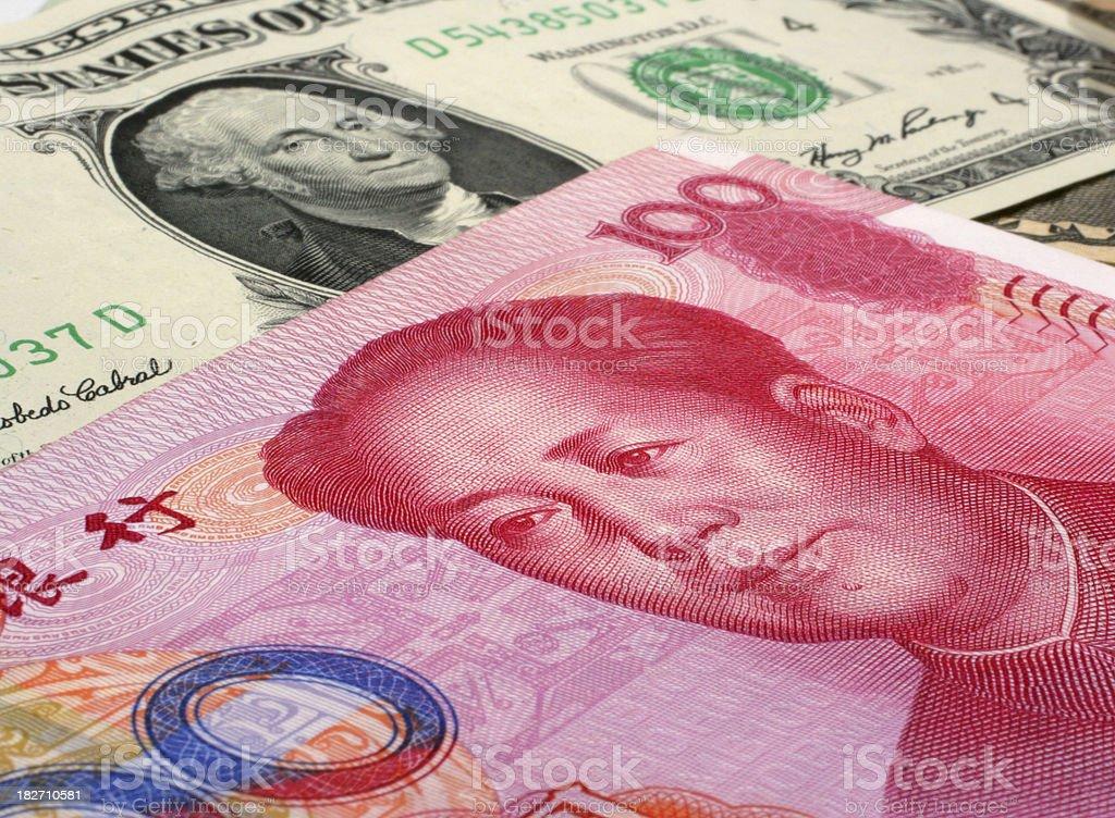 yuan stock photo